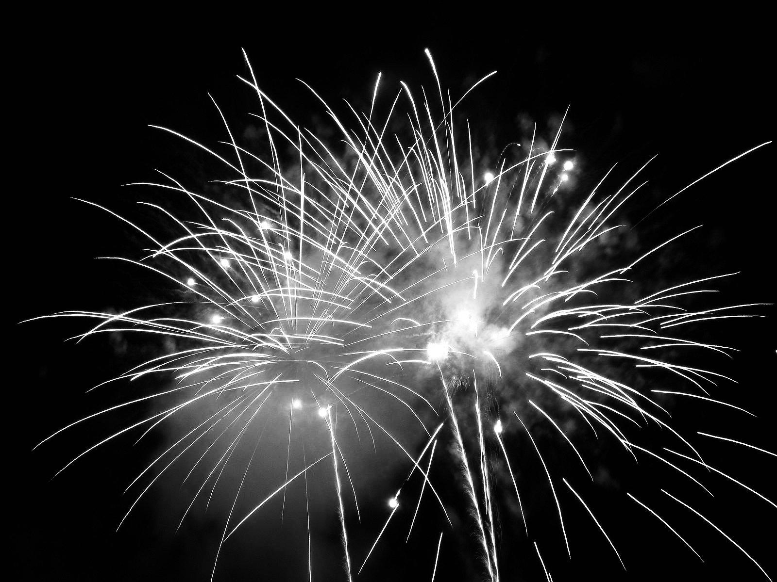 Fuochi d'artificio natale