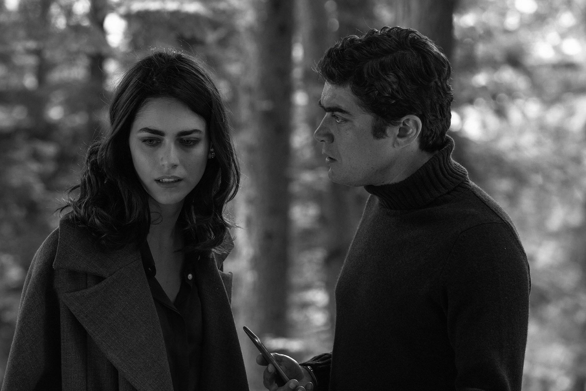 """Riccardo Scamarcio e Miriam Leone nel film """"il testimone invisibile"""""""